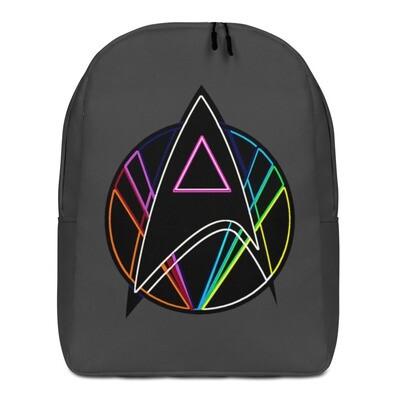 Pink Triangle Queer Star Trek Minimalist Backpack