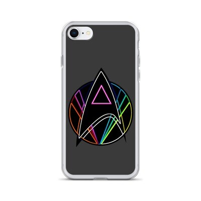 Pink Triangle Queer Star Trek iPhone Case
