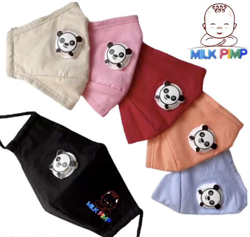 Milk Pimp Kid Face Masks