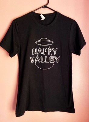 Black Happy Valley Tee