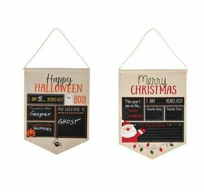 Halloween Xmas Canvas