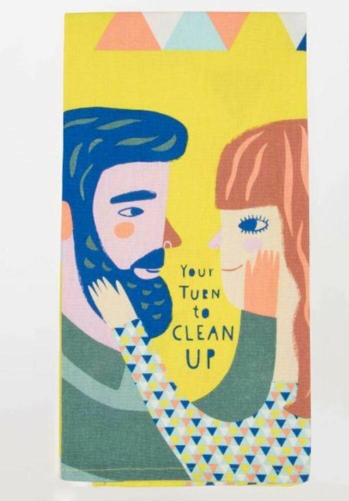 Your Turn Dish Towel