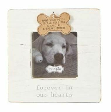 White Deceased Pet Frame