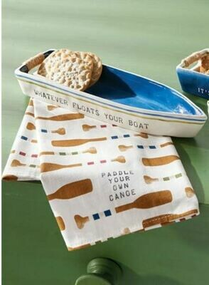 Cream Boat Towel