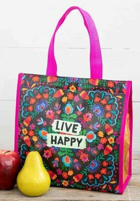 Live Happy Insulated Tote