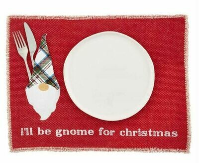Red Gnome Pocket Placemat