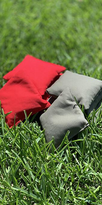 Set of 8 Cornhole Bags - Each bag is 14 oz.