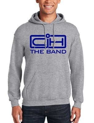 Pullover Long Sleeve Athletic Grey Hoodie with