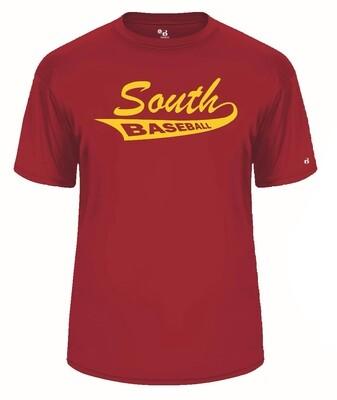 Red A4 N3142 Dryfit T-Shirt
