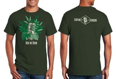 Forest Green Gildan 2000 Short Sleeve T-Shirt with Stripling Choir