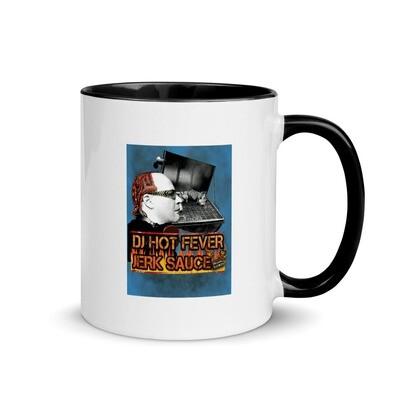 DJ Hot Fever Mug Jerk Sauce with Color Inside