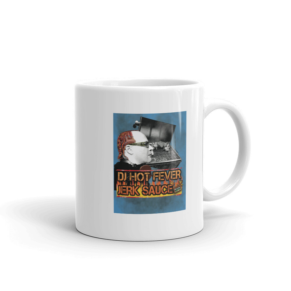 DJ Hot Fever Jerk Sauce Mug