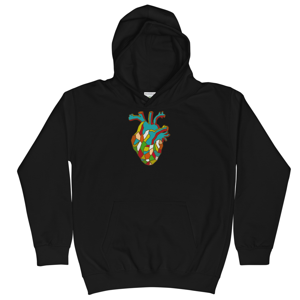 SITEE Heart Hoodie - Explore Anatomy Like Never Before