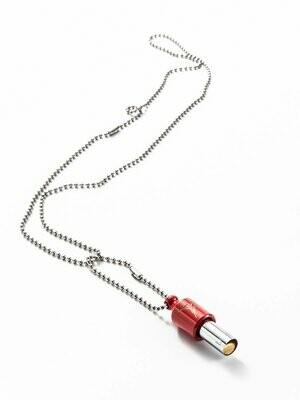 Lovetuner 528 Hz - Atem- und Meditationsgerät - Kugelkette, Rot