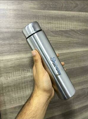 Customised Silver Metal Bottle