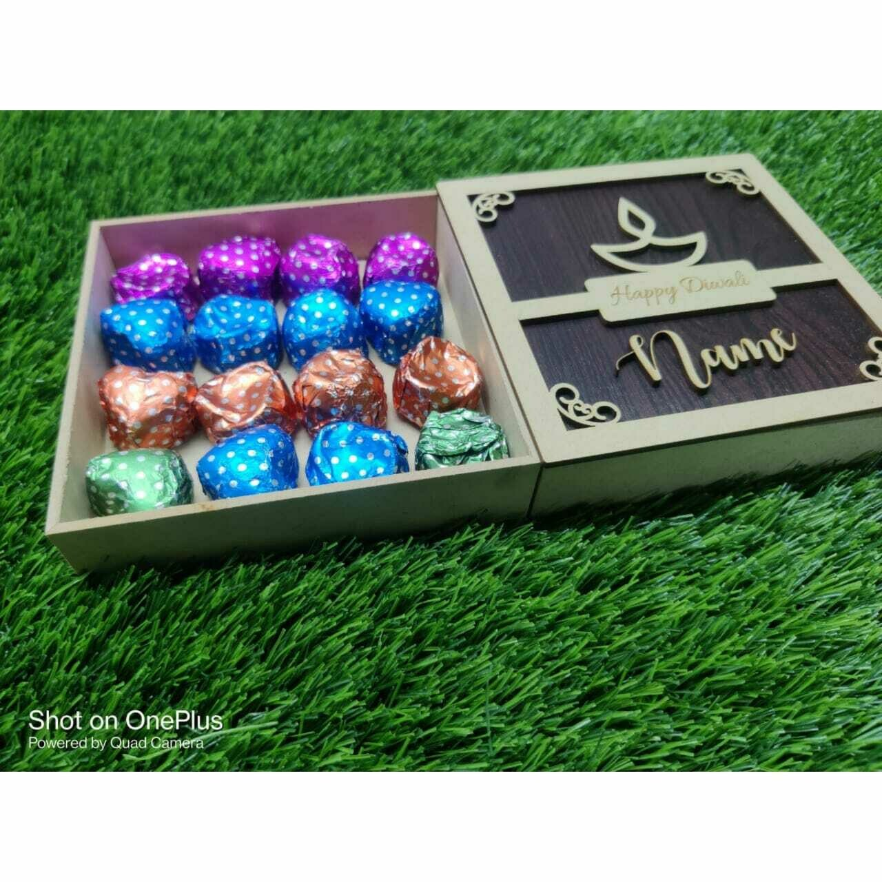 Personalised Diwali Chocolate Hamper
