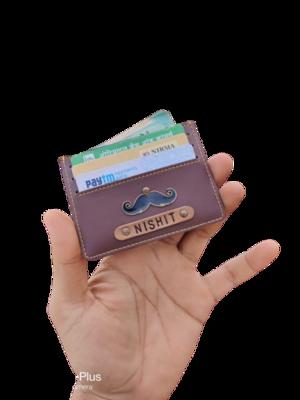 Minimalistic Customised Cardholder