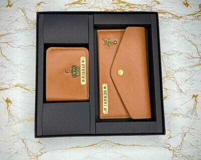 Customised Couple Wallet Combo
