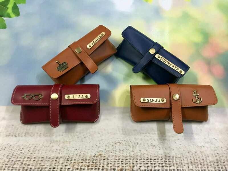 Leather Customised Sunglass Holder