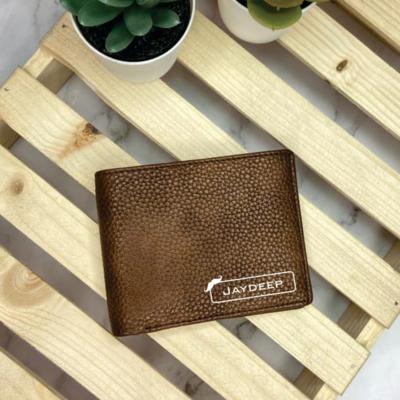 Genuine Leather Customised Wallet