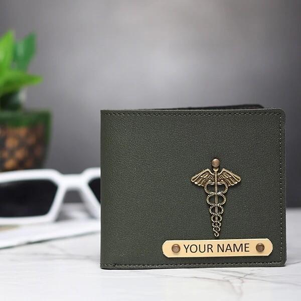 Olive Green Imported Men's Wallet