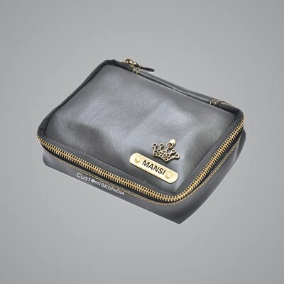 Black Make Up Pouch (Cosmetic Pouch)