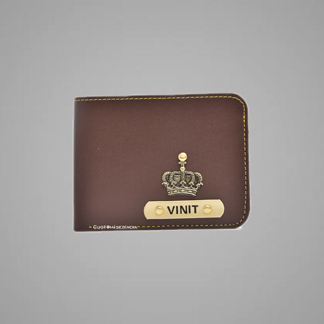 Brown Indian Leather Men's Wallet