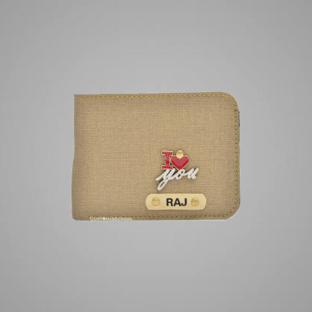 Creme Indian Leather Men's Wallet