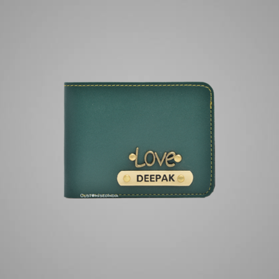 Green Indian Leather Men's Wallet