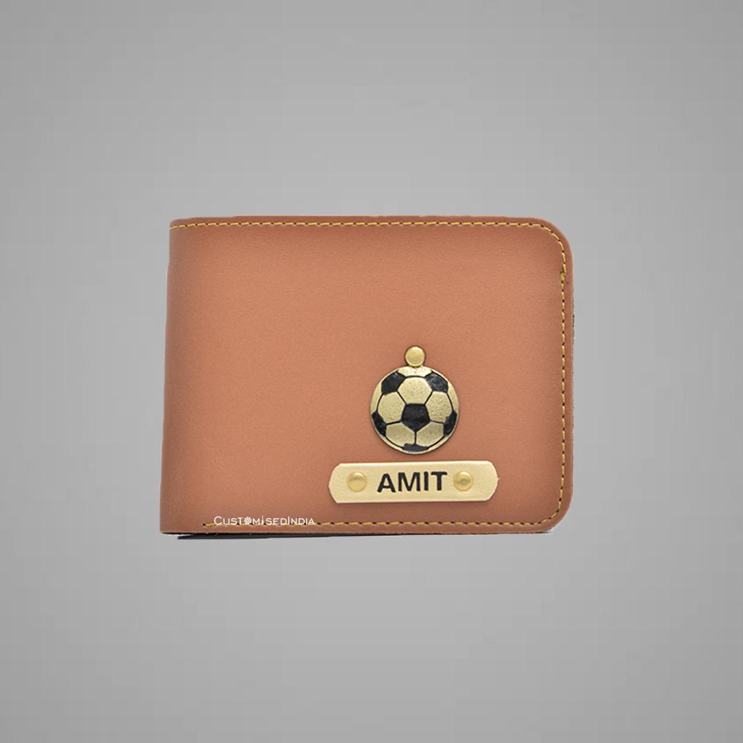 Tan Indian Leather Men's Wallet
