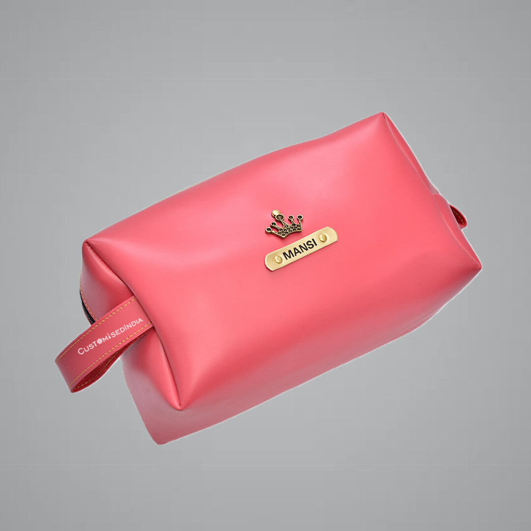 Pink Utility Pouch