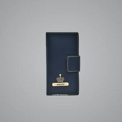Blue Travel Wallet