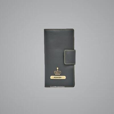Grey Travel Wallet