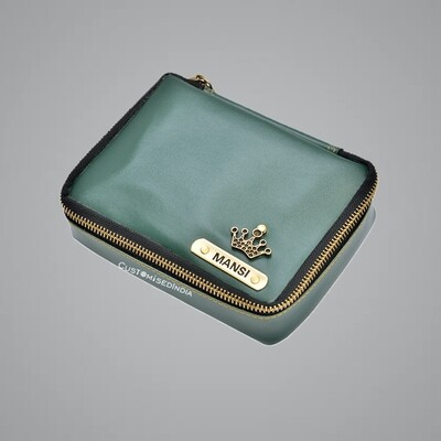 Green Make Up Pouch (Cosmetic Pouch)