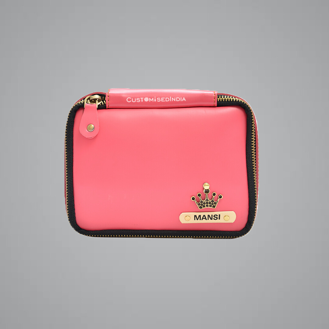 Pink Make Up Pouch (Cosmetic Pouch)