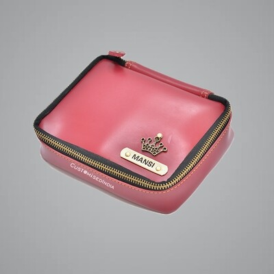 Red Make Up Pouch (Cosmetic Pouch)