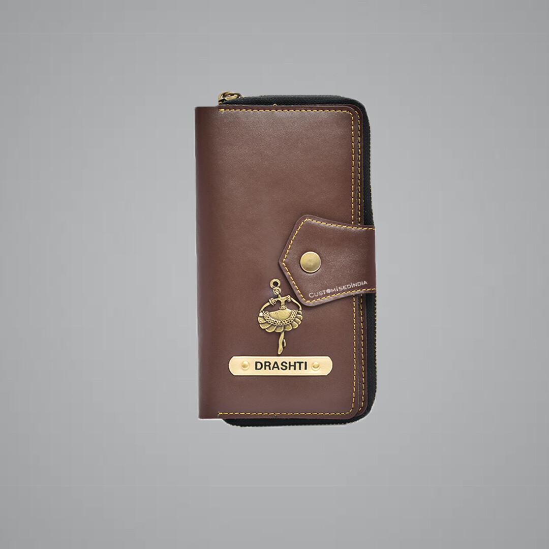 Brown Women's Wallet 2.0
