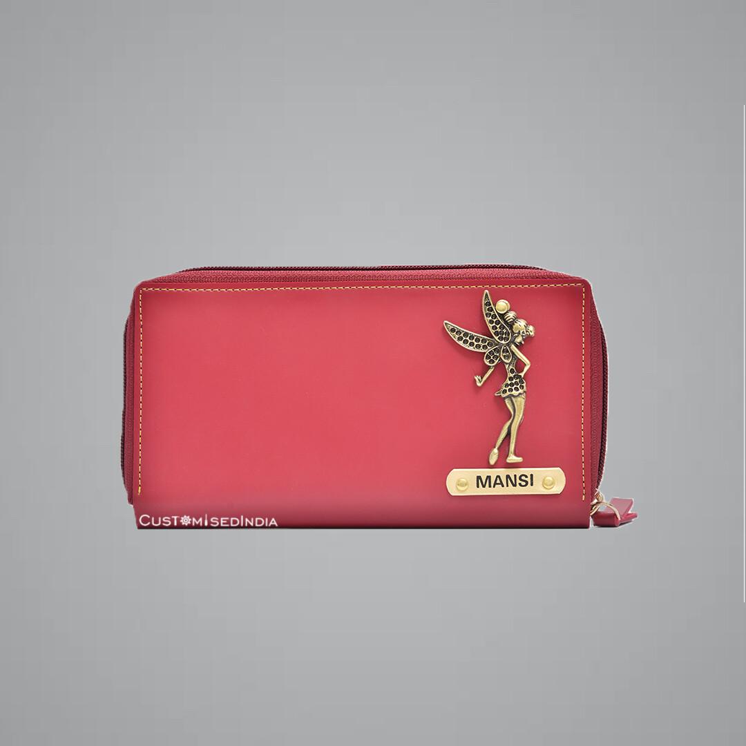Red Premium Women's Clutch