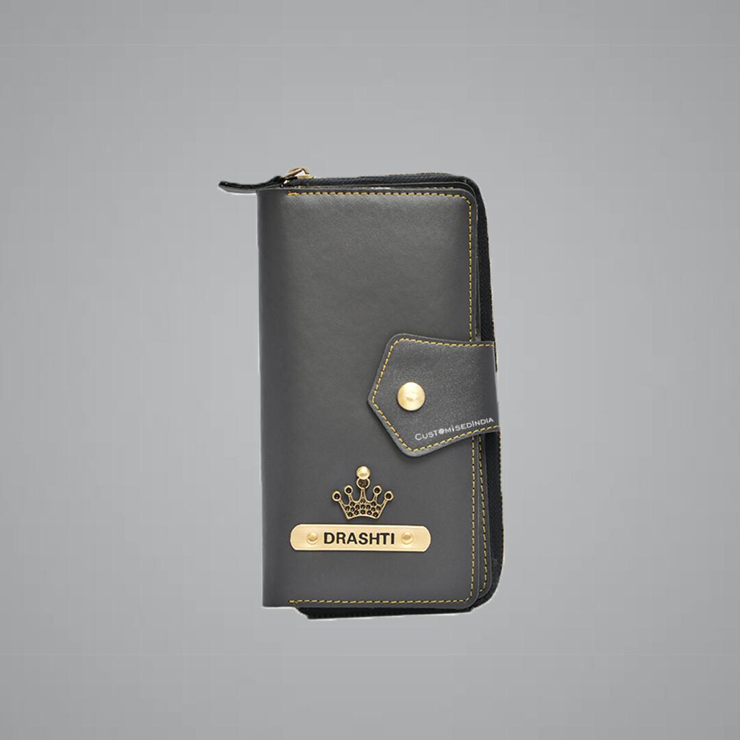 Grey Women's Wallet 2.0