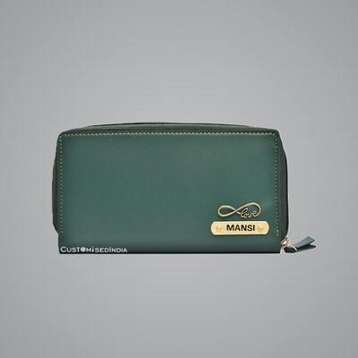 Green Premium Women's Clutch