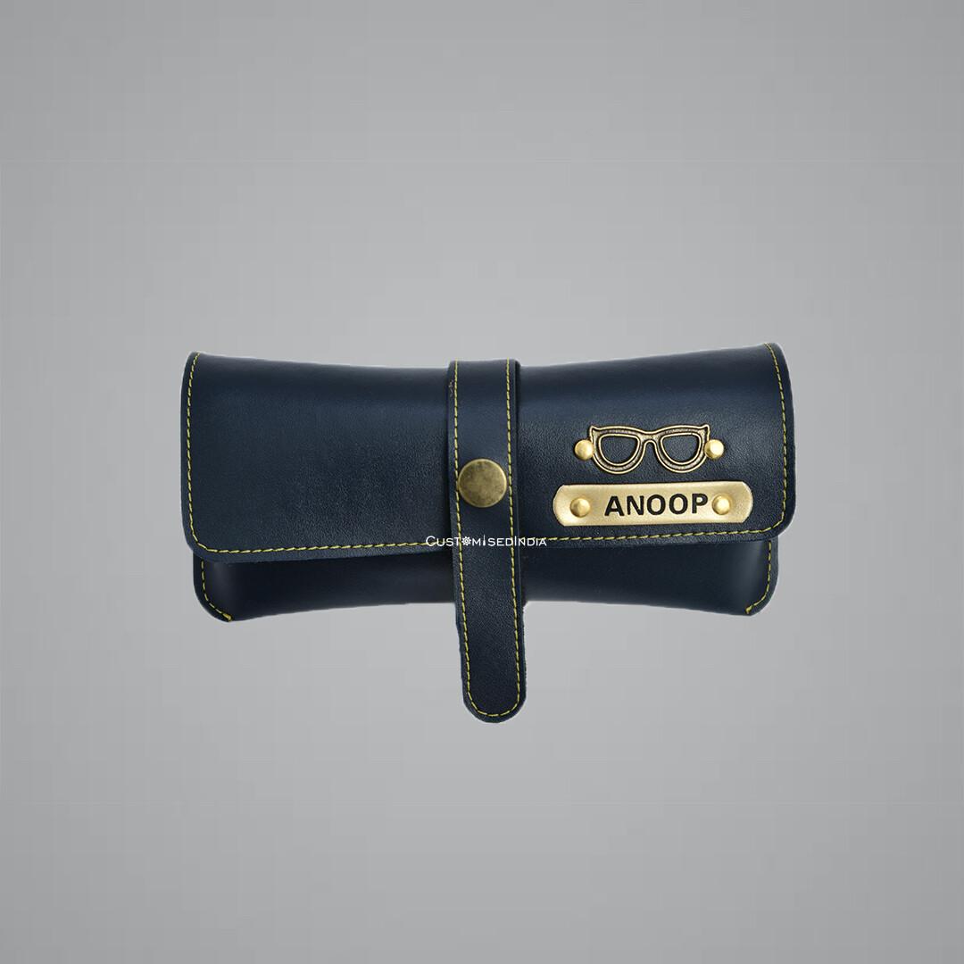 Blue Customised Sunglass Holder
