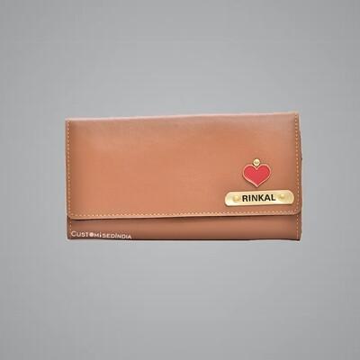 Tan Women's Wallet 3.0