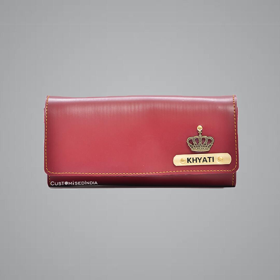 Red Women's Wallet 3.0