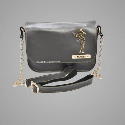 Grey Customised Premium Sling Bag