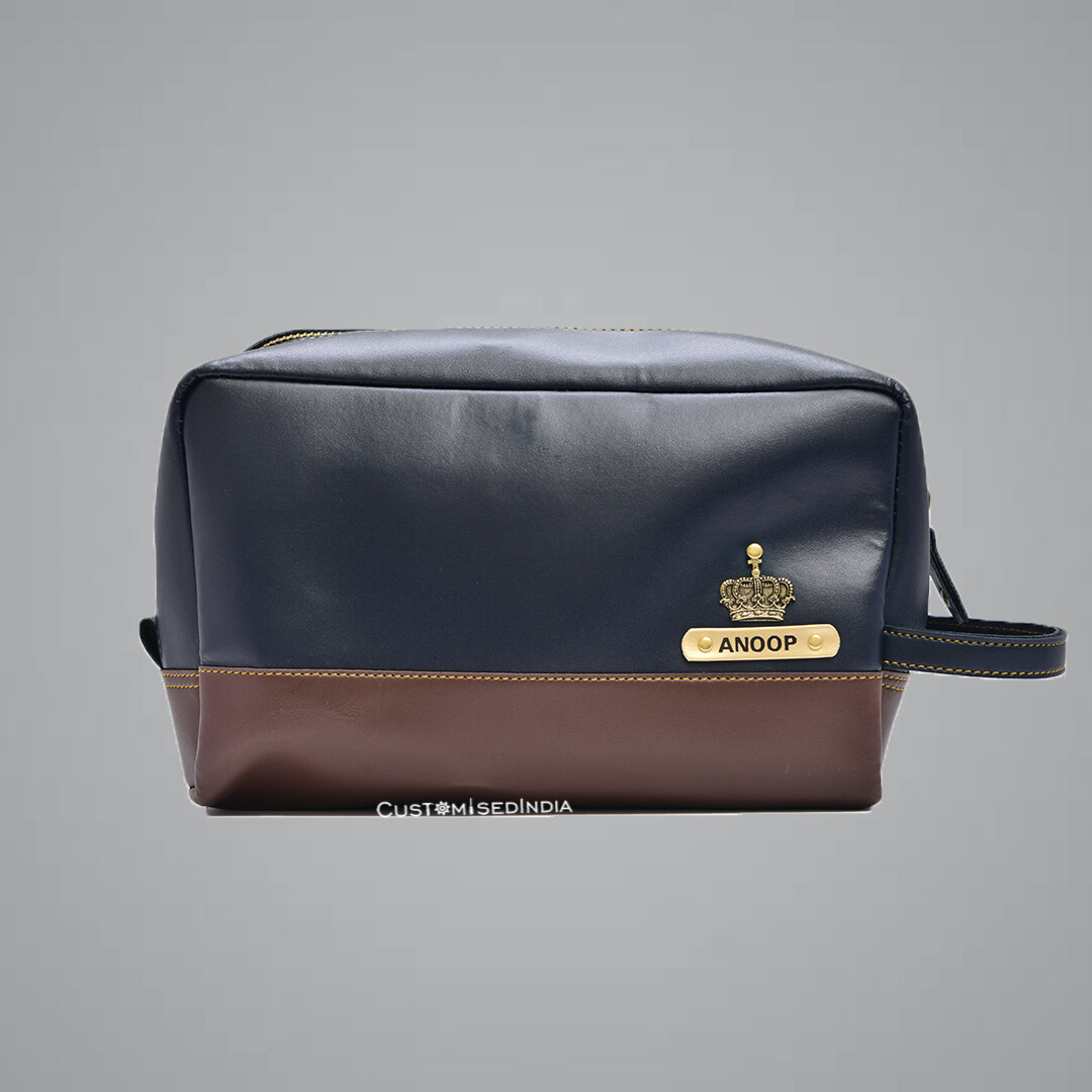 Blue-Brown Utility Pouch