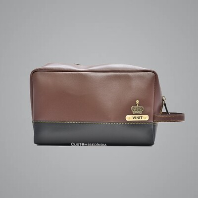 Brown-Grey Utility Pouch