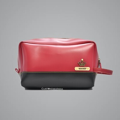 Red-Black Utility Pouch