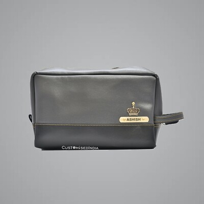 Grey-Black Utility Pouch
