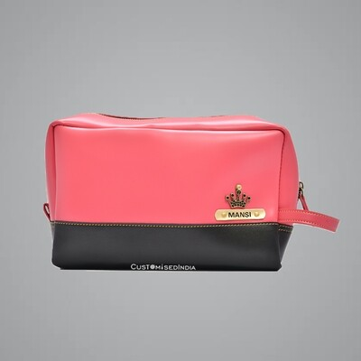 Pink-Black Utility Pouch
