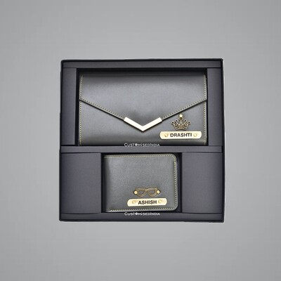 Grey Premium Couple Combo